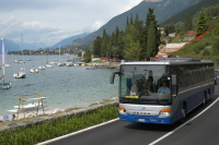 bus sul lago di Garda