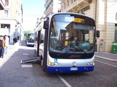 bus urbano a Legnago