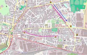 Mappa deviazione via Spolverini