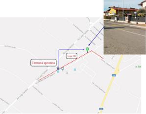 Mappa fermata Villafranca