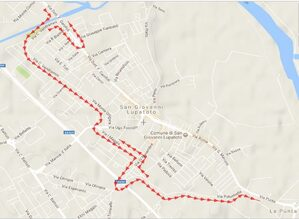 Mappa deviazione San Giovanni Lupatoto
