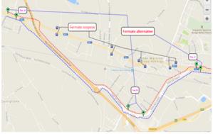 Mappa deviazione San Martino Buon Albergo